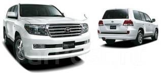 Накладка на бампер. Toyota Land Cruiser, GRJ200, J200, URJ200, URJ202, URJ202W, UZJ200, UZJ200W, VDJ200 1GRFE, 1URFE, 1VDFTV, 2UZFE, 3URFE