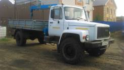 ГАЗ 3308 Садко. Газ 33081 манипулятор, 2 места