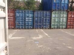 Сдаю в аренду 20 и 40-фут контейнера под склад. 30 кв.м., проспект 50 лет Октября 165, р-н центр