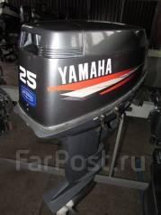 Yamaha. 25,00л.с., 2-тактный, бензиновый, нога S (381 мм), Год: 2006 год