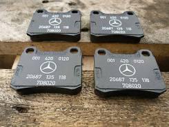 Колодка тормозная. Mercedes-Benz 190, W201 Двигатели: OM, 602, 961, 601, 911, M, 102, 921, 962, 985, 103, 942, 924, 910, E23, E18, M103, E20