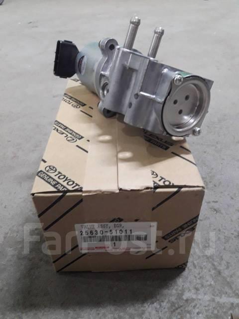 Электроклапан EGR Land Cruiser 200 1VD-FTV. Toyota Land Cruiser, VDJ200, VDJ76, VDJ78, VDJ79 Двигатель 1VDFTV