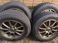 Комплект жирных зимних колес. 7.5x18 5x114.30 ET48