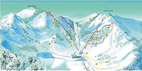 Цзилинь. Горнолыжный тур. Цзилинь, горнолыжный курорт «Бэйдаху»