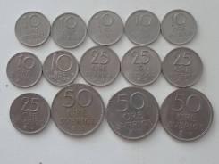 Швеция подборка из 14 монет. Без повторов! Торги с 1 рубля!