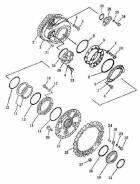 Бортовая бульдозера Shantui SD32 175-27-31114, 175-27-31124. Shantui SD32. Под заказ