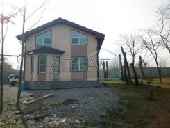 Продаётся новый загородный дом в п. Шмидтовка. Ул. Морской тупик 2, р-н п. Шмидтовка, площадь дома 128 кв.м., централизованный водопровод, электричес...