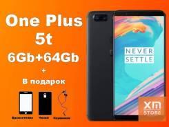 OnePlus 5T. Новый, 64 Гб