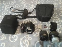Nikon D3300. 20 и более Мп, зум: без зума