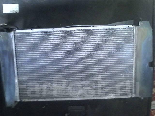 Радиатор охлаждения двигателя. Toyota Allex, NZE121 Двигатель 1NZFE