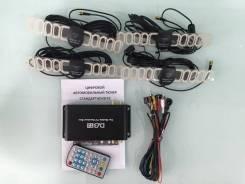 Цифровой автомобильный ТВ-тюнер dvb-T2, 4 Чипа - 4 Антенны Мощный!