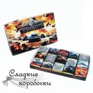 Шоколадный набор (шокобокс) Любителю World of tanks!