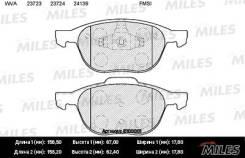 Колодки передние (FORD FOCUS II-III, MAZDA 3 (BK, BL)) E100001 MILES E100001