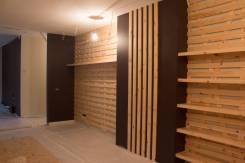 Изготовление и монтаж деревянной обшивки стен в кондитерском магазине. Тип объекта торговая точка, срок выполнения месяц