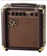 "SX AGA-1065 гитарный комбо 10W, 5,5"", для акустики, 3-пол EQ"