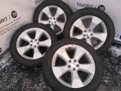 """Оригинальные 17-ые """"Subaru"""" на зиней резине 225/55R17 Sonar Winter. 7.0x17"""" 5x100.00 ET48"""