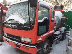 Isuzu Forward. Бетоносмеситель , 1996 г. в., 8 200 куб. см., 2,50 куб. м.