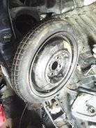 Колесо запасное. Mazda Demio, DE3AS, DE3FS, DE5FS, DEJFS Двигатели: P3VPS, ZJVE, ZJVEM, ZYVE