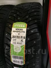 Nokian Hakkapeliitta 8. Зимние, шипованные, без износа, 4 шт