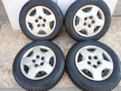 Японские колеса: Bridgestone: 2009год! Более 7мм! (№65910). 6.5x15 5x114.30 ET-44