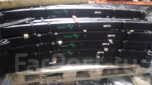 Лист рессоры. Nissan Diesel Mitsubishi Fuso, FK417, FK618, FK416, FK622, FK617 Mitsubishi FK