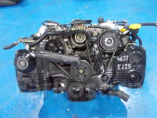 Двигатель в сборе. Subaru: Impreza WRX, Forester, Legacy Lancaster, Legacy, Outback, Impreza WRX STI, Impreza, Exiga, Legacy B4 Двигатели: EJ25, EJ254