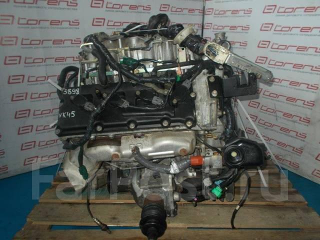 Двигатель в сборе. Infiniti M45 Infiniti FX45 Infiniti FX35 Infiniti M35 Двигатель VK45DE
