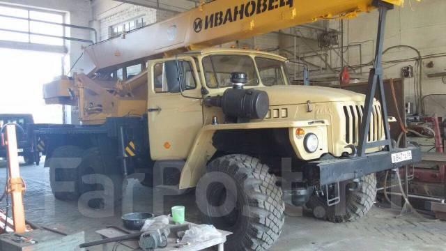 Урал Ивановец. Урал автокран Ивановец, 11 150куб. см.