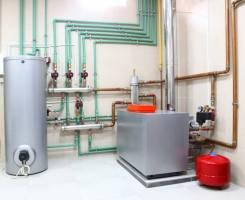"""Монтаж систем отопления и водоснабжения. """"Сухой"""" теплый пол."""