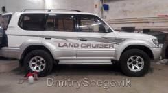 Наклейки. Toyota Land Cruiser Prado Двигатель 13BT
