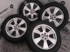 """Красивые литые диски Creole на зимней резине 215/60R17 Bridgestone. 7.0x17"""" 5x100.00 ET48"""
