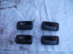 Ручка двери внутренняя. Toyota: Grand Hiace, Regius, Carina, Hiace, Granvia Двигатели: 3RZFE, 1KZTE, 5VZFE, 4SFE, 5AFE, 3SFE, 2C, 4AFE, 2L, 2RZE, 2LT