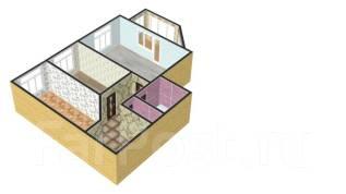 2-комнатная, улица Шевчука 30б. Индустриальный, агентство, 73 кв.м.