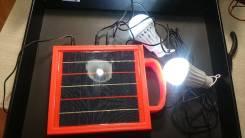 Отдам бесплатно солнечную батарею с лампочками [Резерв до утра 19.12]
