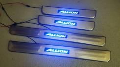 Накладка на порог. Toyota Allion, NZT260, ZRT260, ZRT261, ZRT265