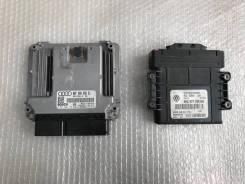 Блок компьютер двигателя АКПП Audi A3 2.0 FSI. Audi S3, 8P1, 8PA Audi A3, 8P1, 8PA Двигатели: BGU, BLR, BSE, BSF