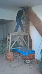 Демонтаж стен, полов: всех видов перегородок: демонтаж/снос/разбор домов.