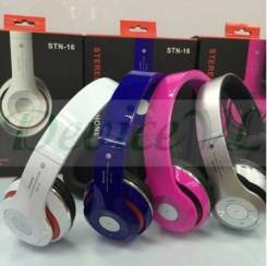 Беспроводные bluetooth стерео наушники Headphones STN-16.