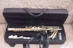 Саксофоны-сопрано.