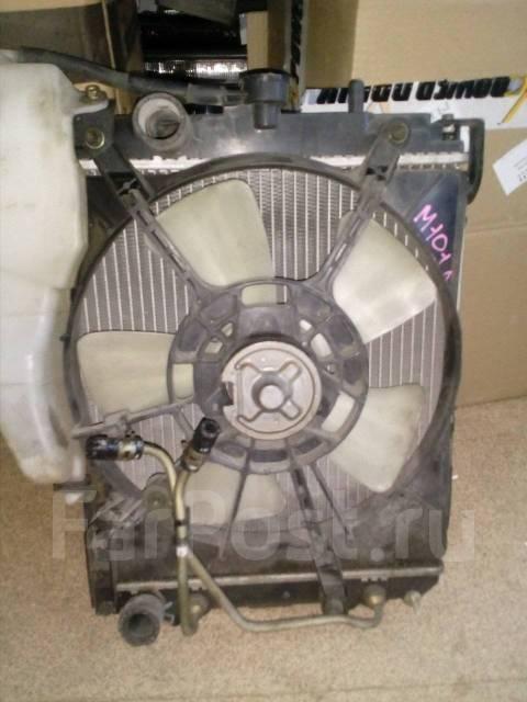 Радиатор охлаждения двигателя. Toyota Duet, M101A Двигатели: K3VE, K3VE2