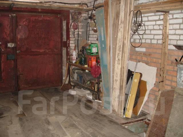 Гаражи капитальные. улица Хабаровская 19, р-н Первая речка, 19кв.м., электричество, подвал. Вид изнутри