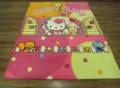 Ковер Hello Kitty с мишкой в окне