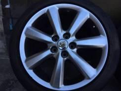 Летние колеса 225-45-18 на литье Toyota Кроун. 8.0x18 5x114.30 ET50