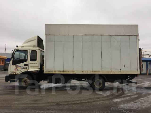 Foton Auman. 135 грузовой фургон, 3 990 куб. см., 5 920 кг.