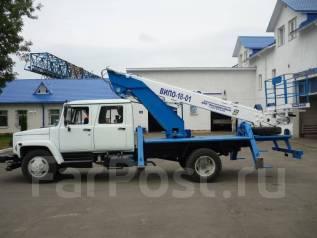 Випо-24. Автогидроподъемник ВИПО-24-01 на шасси ГАЗ-33086 (4х4) 5м. кабина