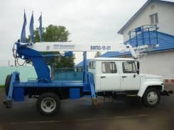 Випо-18. Автогидроподъемник ВИПО-18-01 на шасси ГАЗ-3309 (4х2)(5м. каб) стела вп