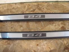 Накладка на порог. Subaru Legacy B4, BL5 Двигатели: EJ20, EZ204, EJ203, EJ204, EJ202, EJ20X