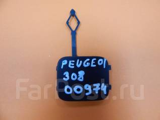 Заглушка бампера. Peugeot 3008