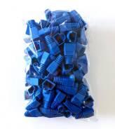 Пластиковый защитный чехол для RJ45 Синий 100ШТ