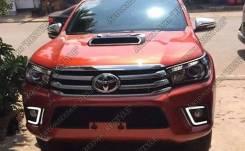 Ходовые огни. Toyota Hilux Pick Up, GUN125, GUN125L, GUN126L Двигатели: 1GDFTV, 2GDFTV. Под заказ